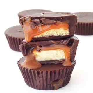 Twix Caramel Chocolate Cups