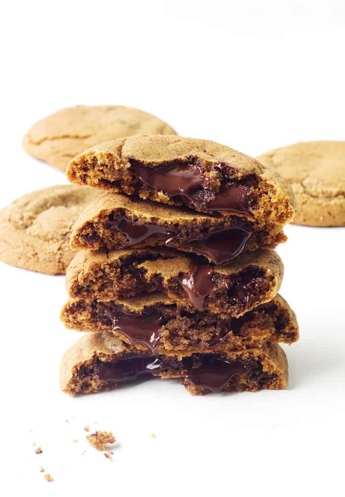 Chocolate Chunk Molasses Cookies - Sweetest Menu