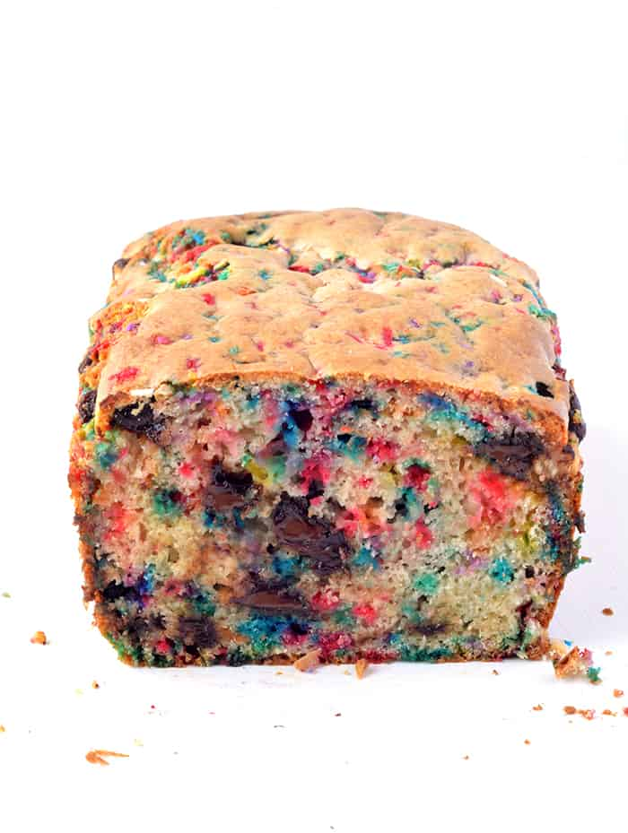 Amazing Funfetti Ice Cream Bread