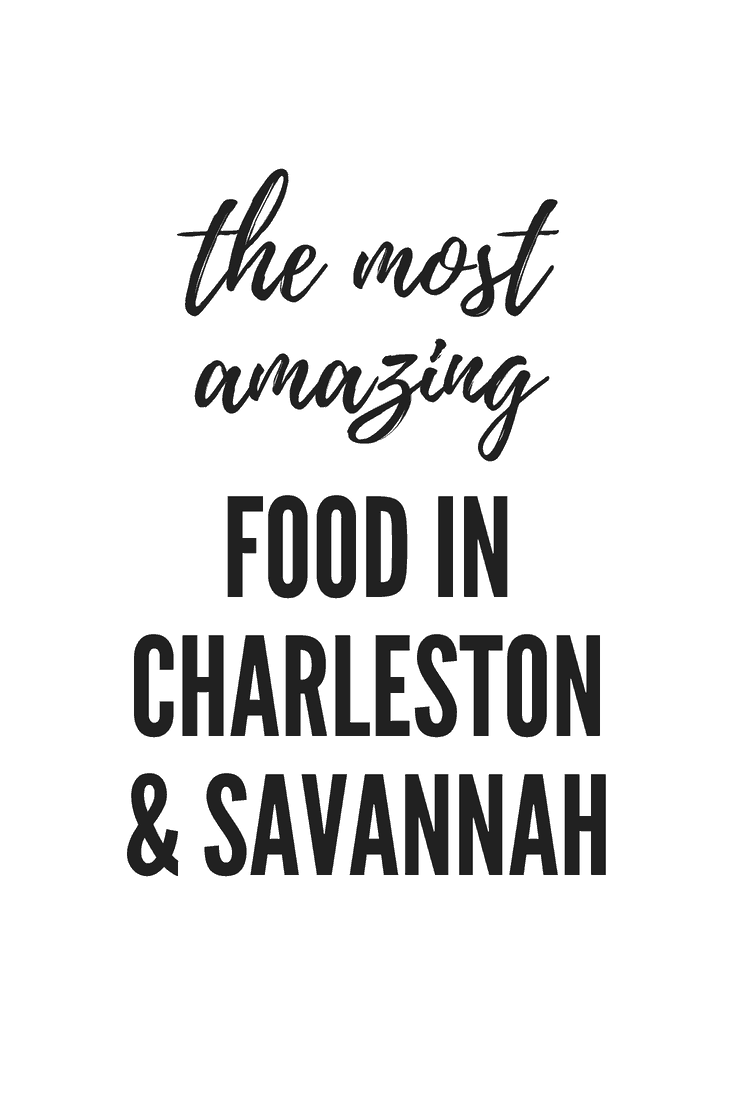 Let's talk amazing food in Charleston and Savannah. Here are my favourite places to eat, from melt-in-your-mouth brisket to buttery cherry pie, this food is worth travelling halfway across the world for. #travel #food #restaurants #charleston #savannah #america
