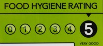 sweet fantasies Food Hygiene Rating 5*