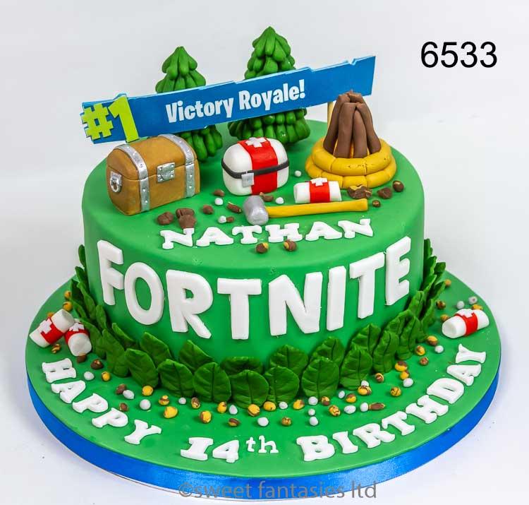 Fortnite Birthday Cakes Sweet Fantasies Cakes Stoke On