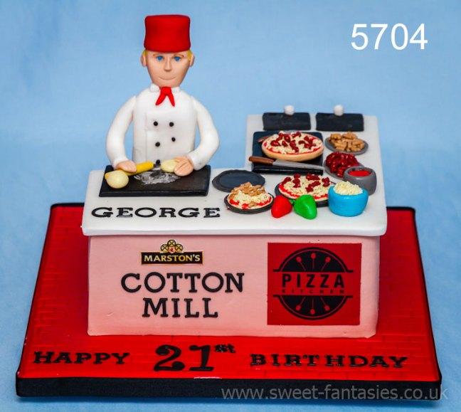 boys 21st birthday cake