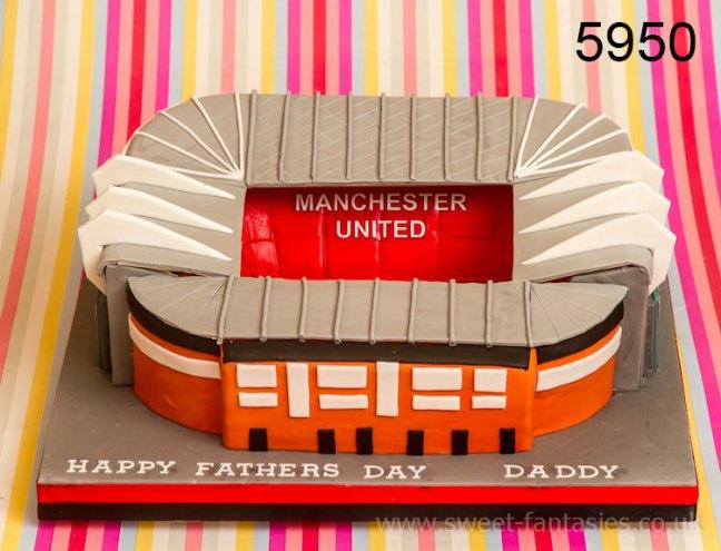 Stoke City Football Stadium, Fathers Day Cake