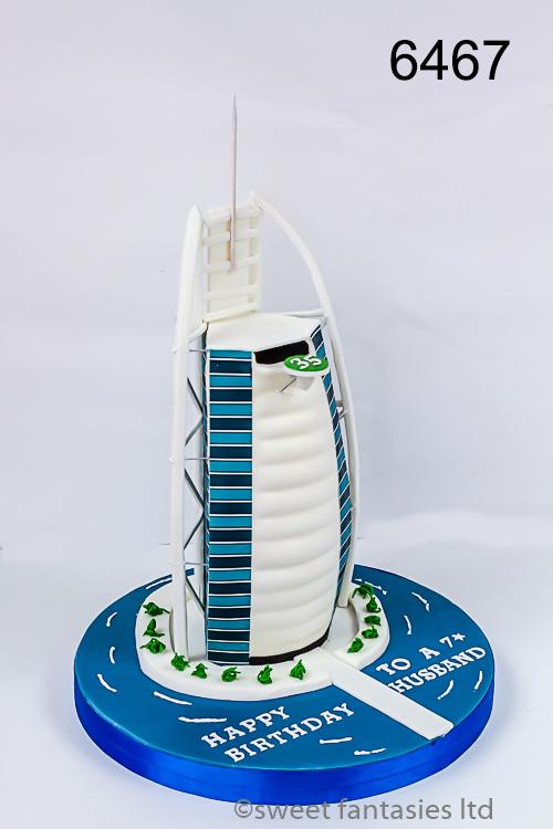 3D Burj Khalifa, mans birthday cake