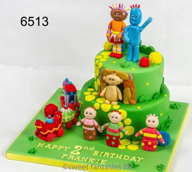 In The Night Garden Birthday Cake