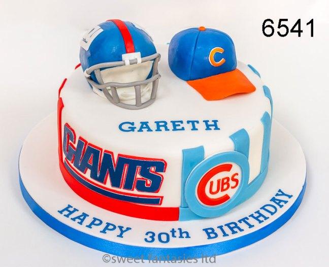 Baseball 30th Birthday Cake