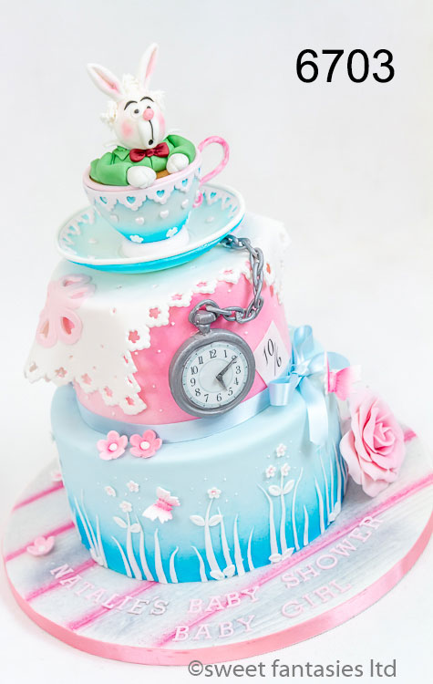 3 Tier Baby Shower cake
