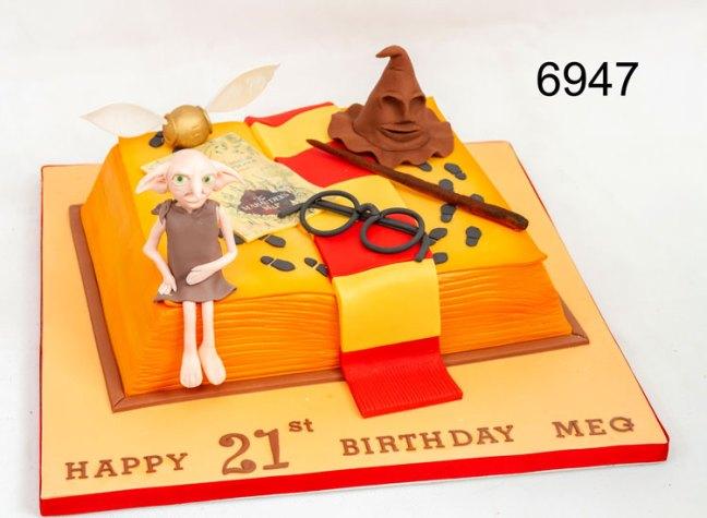 harry Ptter - girls 21st birthday cake