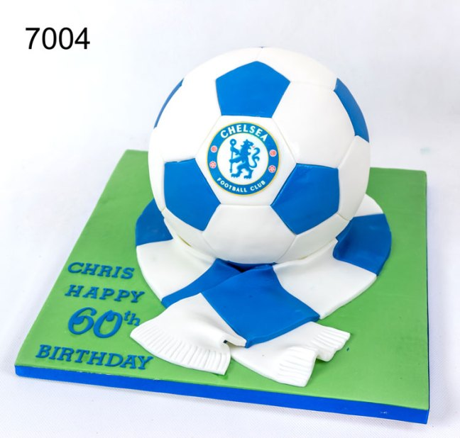 3D Football Birthday Cake