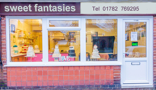 sweet fantasies cake makers stoke-on-Trent