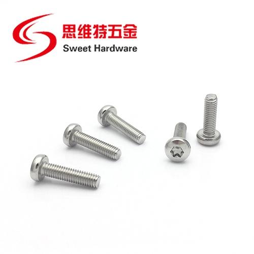 18/8 Stainless Steel Torx drive pan head security machine