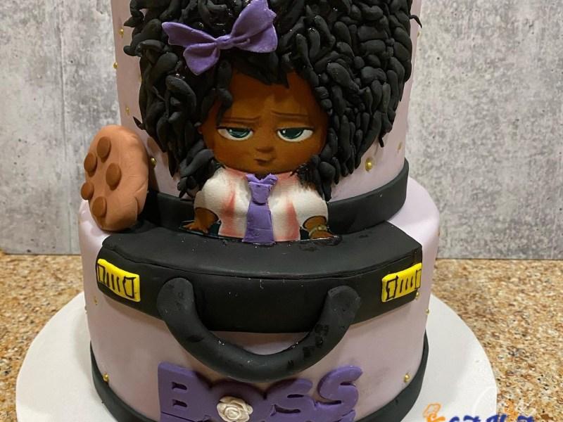 boss baby cake