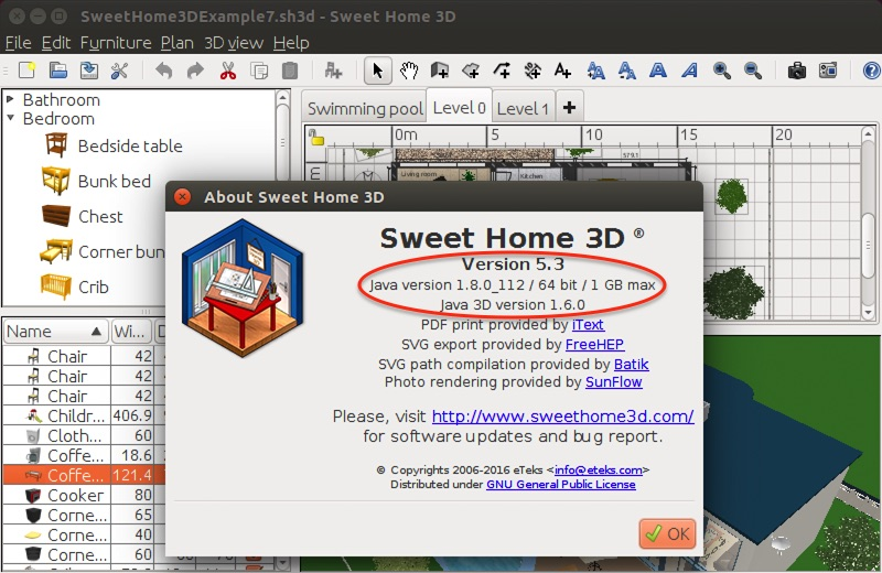 Depending on whether java is installed on you system. Sweet Home 3d 5 3 Sweet Home 3d Blog