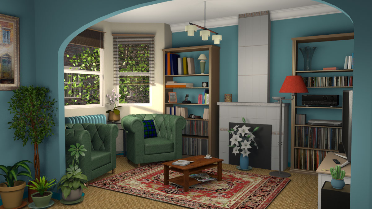 Draw the rooms of each level of your home upon the image of an existing plan, change the color or the texture of each room, and drag and drop furniture onto the plan from a catalog organized by categories (windows, doors, living room, kitchen), in which you can import 3d models created by yourself or downloaded … Sweet Home 3d Blog