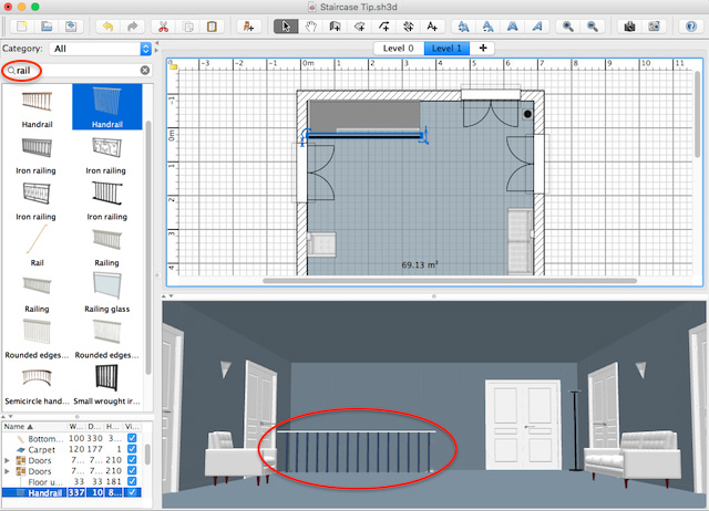 I had expected to find a … How To Customize Staircases Sweet Home 3d Blog