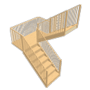 Sweet home 3d is a nice stair designer as it lets you export the stair design software in different formats. Sweet Home 3d Search Free 3d Models