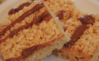 Dulce de Leche Rice Krispie Treats