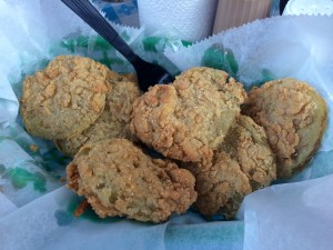 Champy's chicken Fried Green Tomatoes