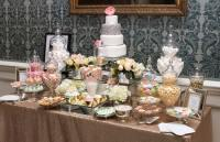 Gold and Pastels Dessert and Sweet Table - Candy Buffets l ...