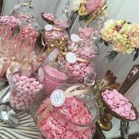 Wedding Sweetie Table Table Pink and gold - Candy Buffets ...