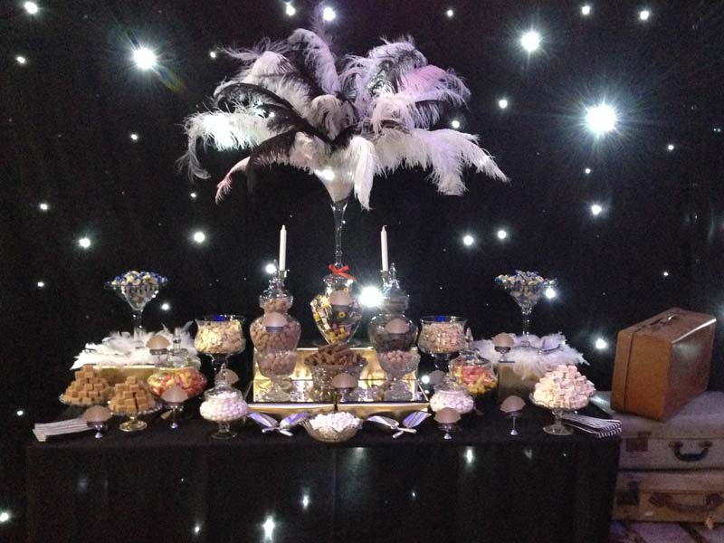 1920s themed Candy Buffet  Candy Buffets l Sweetie