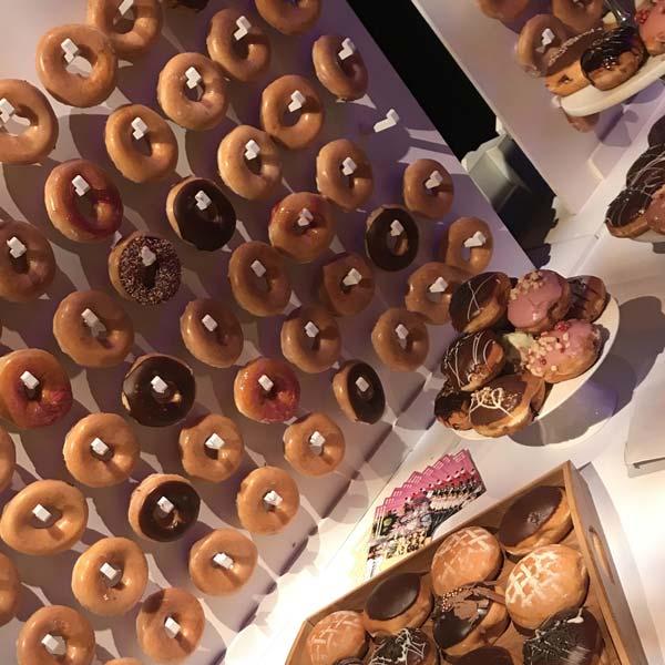 Donut Walls L Ganache Filled Donuts Candy Buffets L