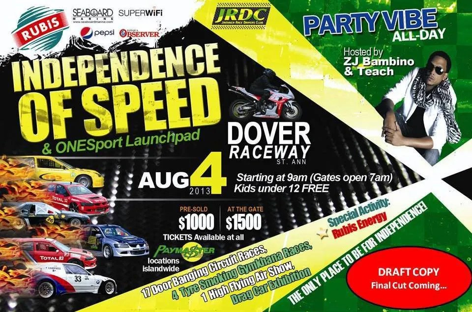 Independence of Speed 2013