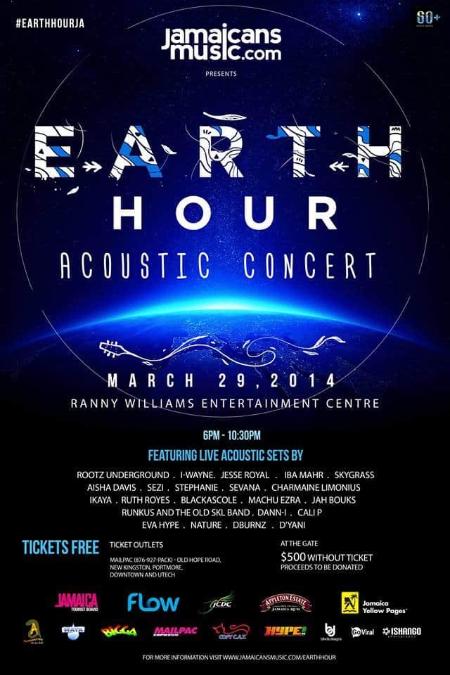 Earth Hour Jamaica Concert