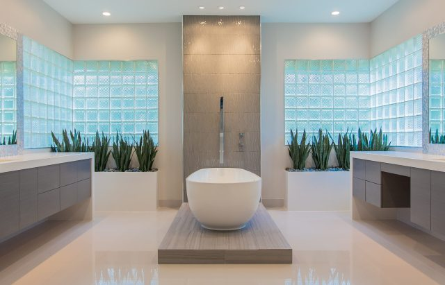 Memorial Modern Master Bath Remodel Houston TX