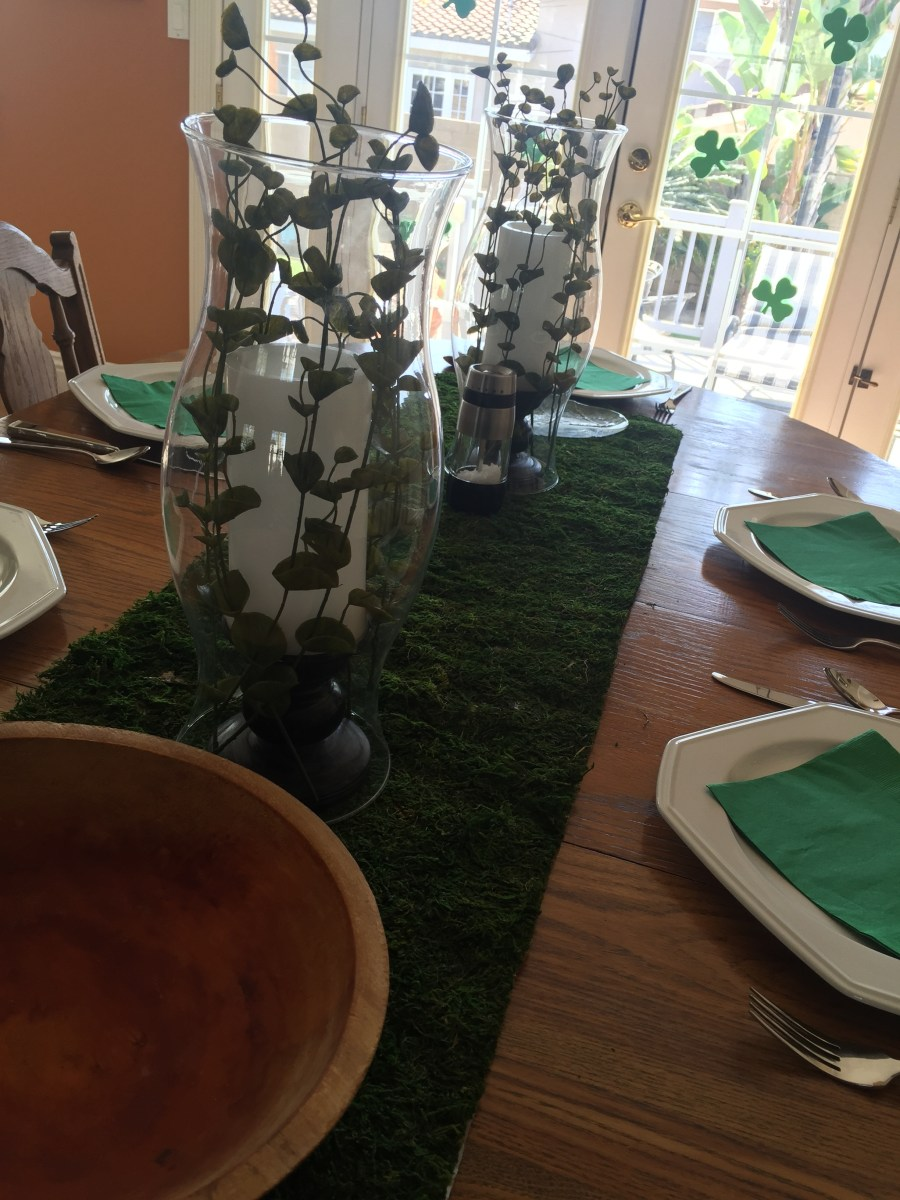 St. Patrick's Day dinner Party by Sweet Lane Events