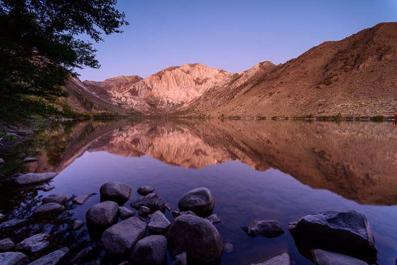 Blue Hour on Convict Lake