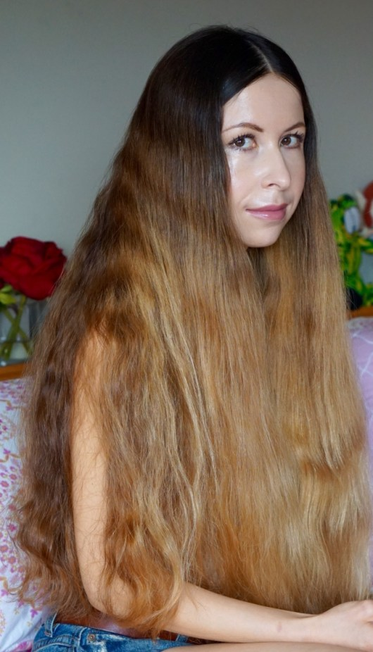 Long Hair Low Maintenance! Unlike what many people who always had shorter hair think it may be both easier and cheaper to have longer hair!