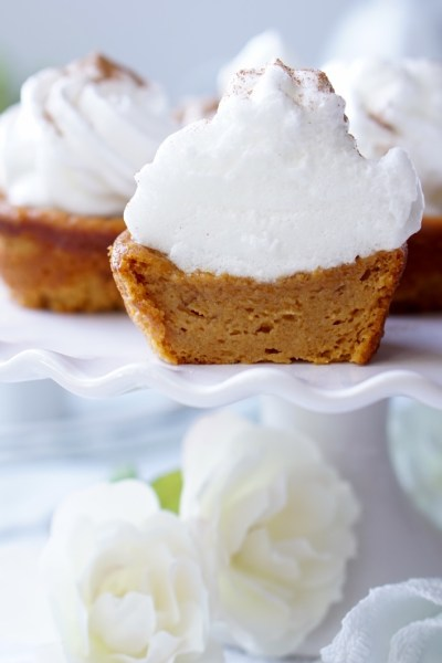 Healthy Impossible Sweet Potato Pie Cupcakes! The Super-Speedy, Gluten-Free, Vegan and Paleo Versions Included!