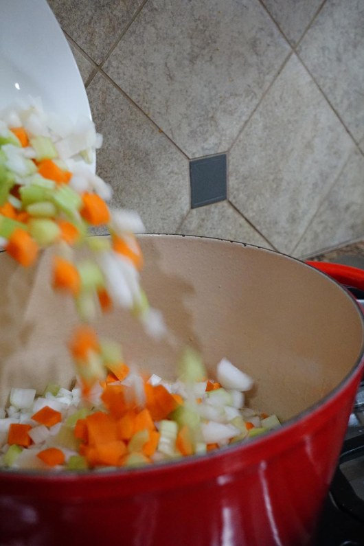 Fall is the perfect time for a delicious harvest soup and these easy flavors come together in a snap. Vegetable Orzo Soup is a healthy meal packed full of flavor.