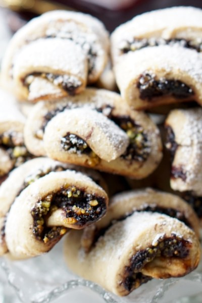 Healthy Blueberry Rugelach Cookies and a Few Words About Religion…