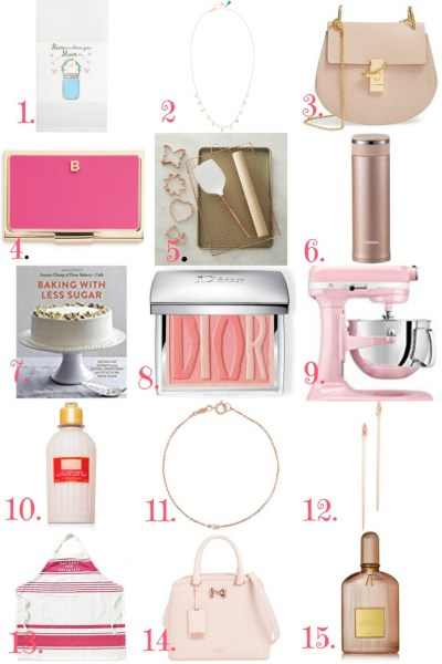Mother's Day Gift & Wish List