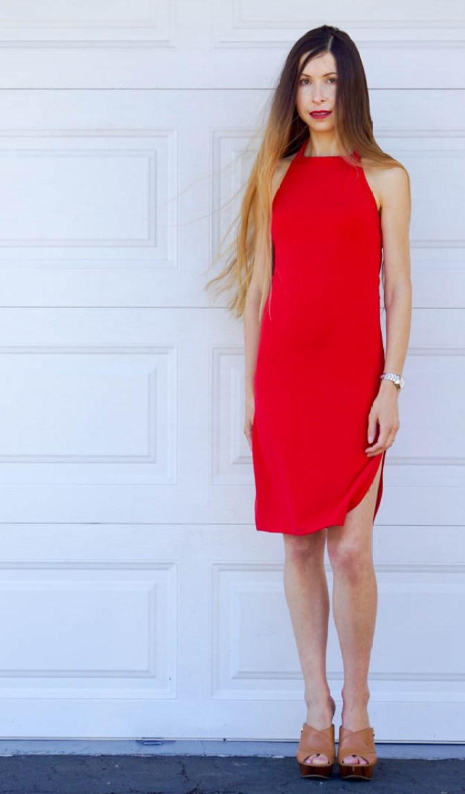 Everyone needs at least one Little Red Dress that is simple, yet stunning! This red dress is also very versatile, classy, comfortable, and summery!