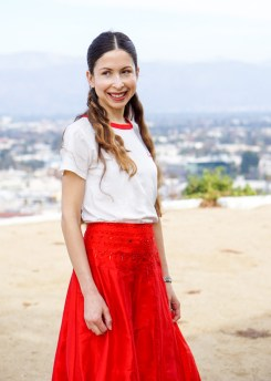 Red Maxi Skirt-36