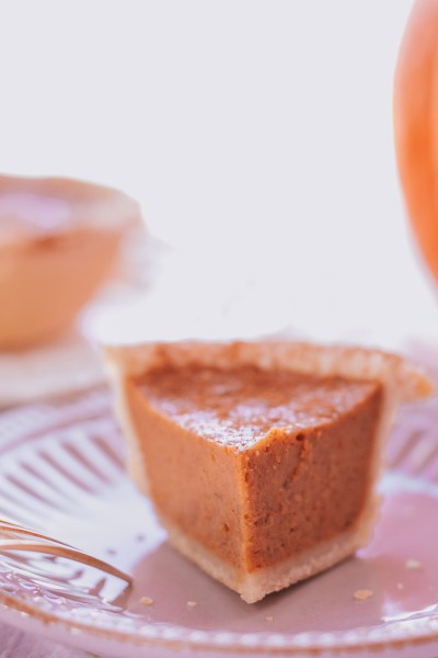 SUGAR-FREE HEALTHY PUMPKIN PIE RECIPE!