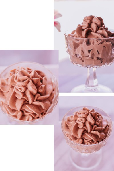 THE EASIEST HEALTHY CHOCOLATE PEANUT BUTTER MOUSSE!