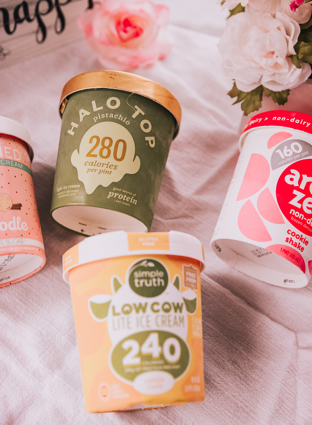 THE BEST HEALTHY STORE-BOUGHT ICE CREAMS GUIDE!