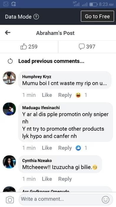Sweetloaded suicideeee Man Commits Suicide By Drinking Sniper Because Of A His Girlfriend (Graphic Photos) gist News
