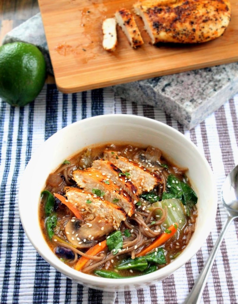copy cat recipe for panera rsquo s soba noodle broth bowl with chicken
