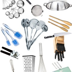 Kitchen Cooking Utensils Cabinets.com List And Their Functions Tools