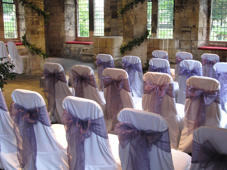 chair cover hire yorkshire covers rental in brooklyn the hospitium york heart of north sweetly seated