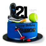 Hobbies and sports cake