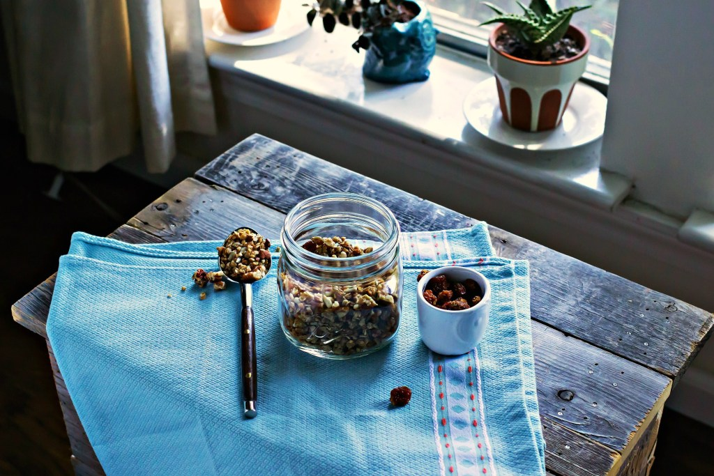 ditch the oven: skillet granola method | via sweet miscellany