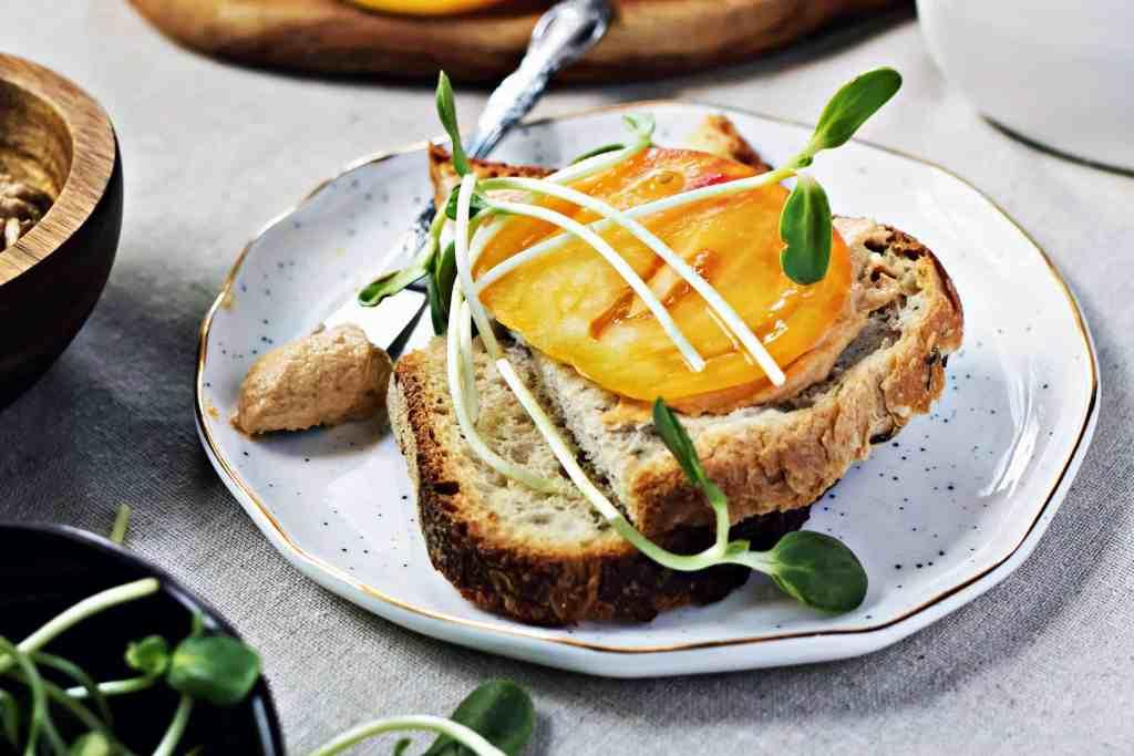 vegan sunflower cheddar spread | plant based recipes via sweet miscellany