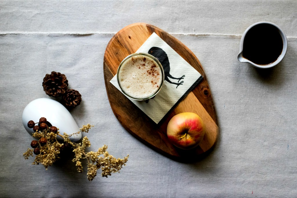 my take on the pumpkin spice latte | plant based recipes via sweet miscellany